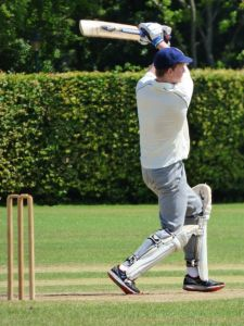George batting 1